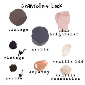 chantelle's look